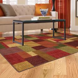 Celeste 1 Multi Blocks Rug (5' x 8') - Thumbnail 1