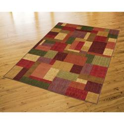 Celeste 1 Multi Blocks Rug (5' x 8') - Thumbnail 2
