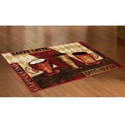 Mohawk Home Jazzy Coffee Red Kitchen Rug 1 39 8 X 3 39 9