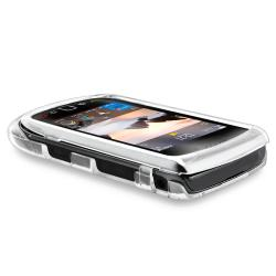 BasAcc Clear Snap-on Crystal Case for Blackberry Torch 9800 - Thumbnail 2
