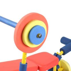Fun and Fitness Kid's Weight Bench Set