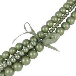 Roman Colored Faux Pearl 4-piece Necklace - Thumbnail 1