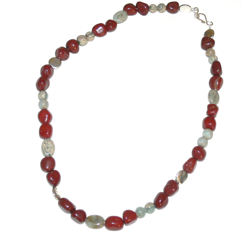 Susen Foster 'The Mariner' Men's Variscite Necklace