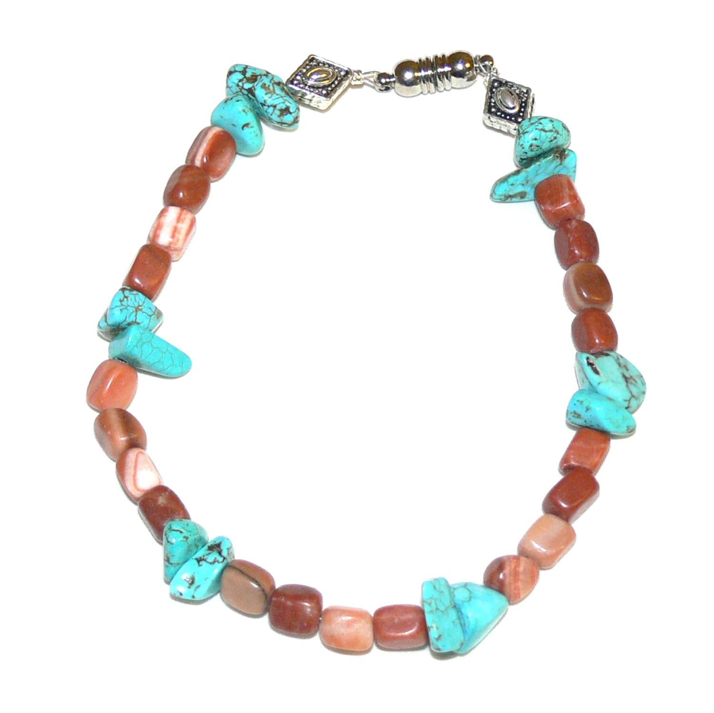 Susen Foster 'Pueblo Paseo' Gemstone Bracelet