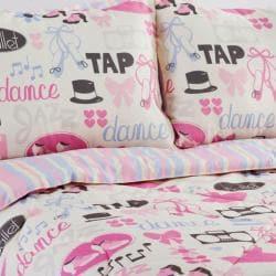 Dance Princess 3 Piece Twin Size Comforter Set Free