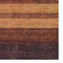 Indo Hand-knotted Tibetan Brown Wool Rug (4' x 6') - Thumbnail 2