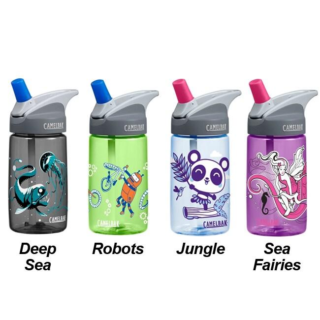 CamelBak Eddy .4 Liter Kid's BPA-free Water Bottle Bonus Pack