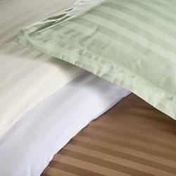 Delray Stripe 600 Thread Count 3-piece Duvet Cover Set - Thumbnail 2