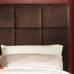 Sarjevo Chocolate Brown Corduroy King-size Bed - Thumbnail 1