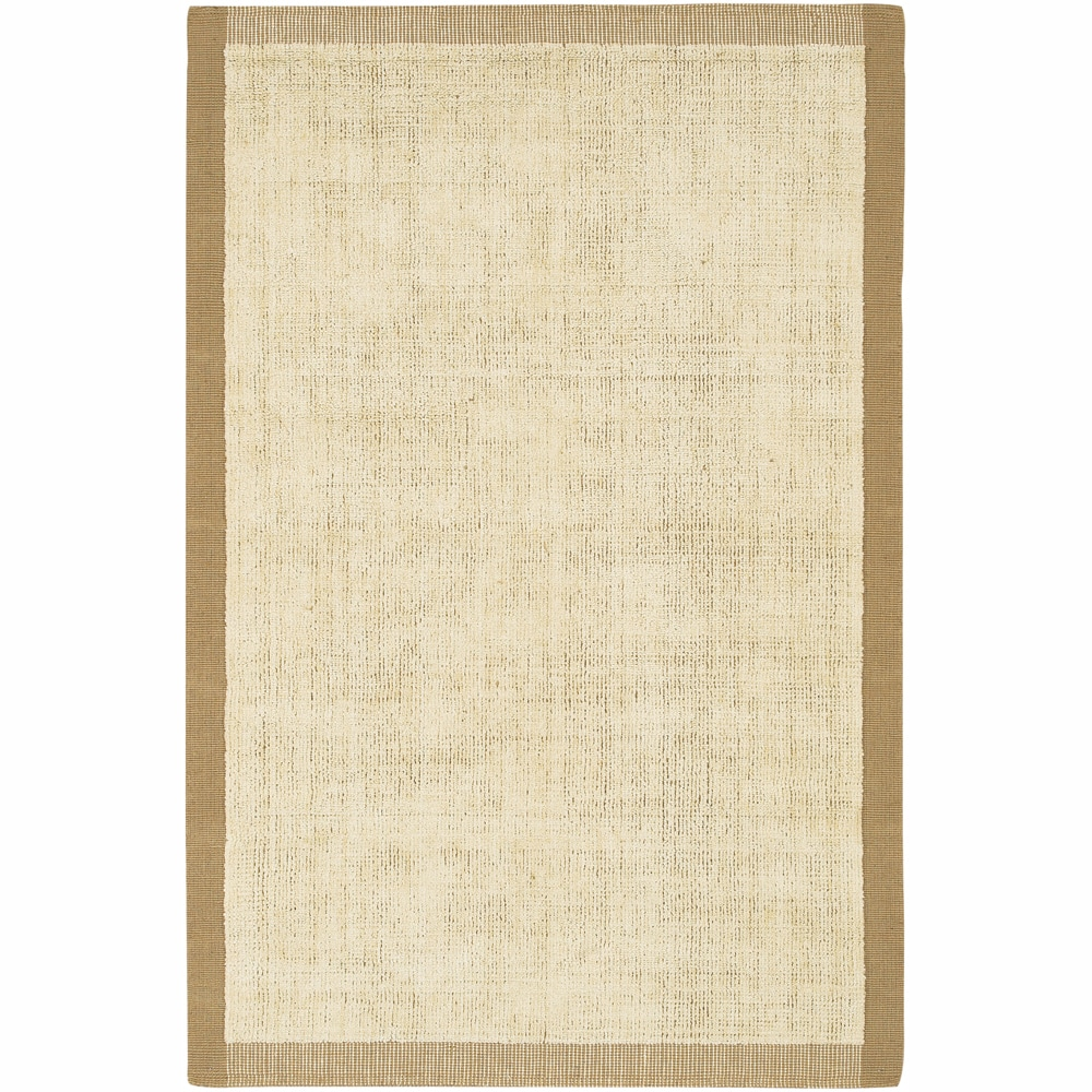 Artist's Loom Hand-woven Contemporary Border Natural Eco-friendly Jute Rug (7'9x10'6)