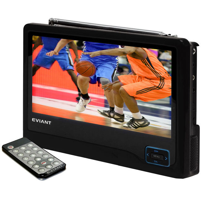 Eviant T10 WideScreen 800x480 Portable LCD 10-inch TV (Refurbished)