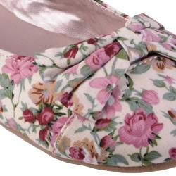 Journee Collection Women's 'Zoom' Bow Accent Mary Jane Ballet Flat