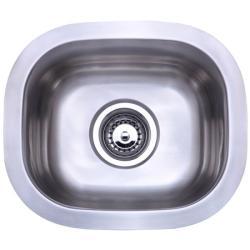 Stainless Steel 14.25-inch Undermount Kitchen Sink