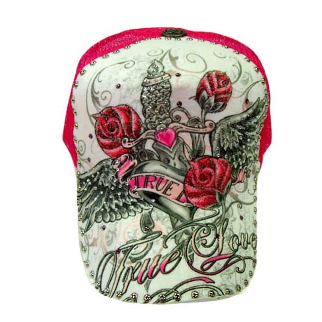 Katwalk Divaz 'Wings' Rhinestone Trucker Hat