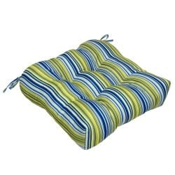 Outdoor 'Poolside Stripe' 20-inch Chair Cushion