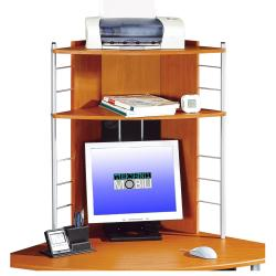 Deluxe Corner Tower Computer Workstation Desk