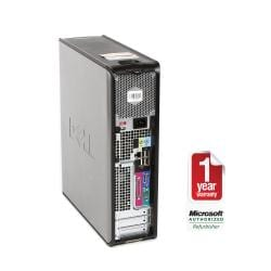 Dell OptiPlex GX520 3.2GHz 160GB Desktop Computer (Refurbished) - Thumbnail 2