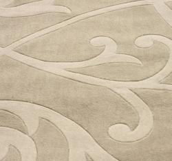 nuLOOM Handmade Pino Scroll Vines Rug (6' x 9')