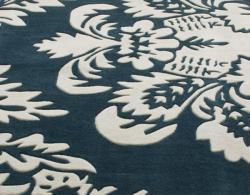 nuLOOM Handmade Pino Damask Rug (8'3 x 11') - Thumbnail 2
