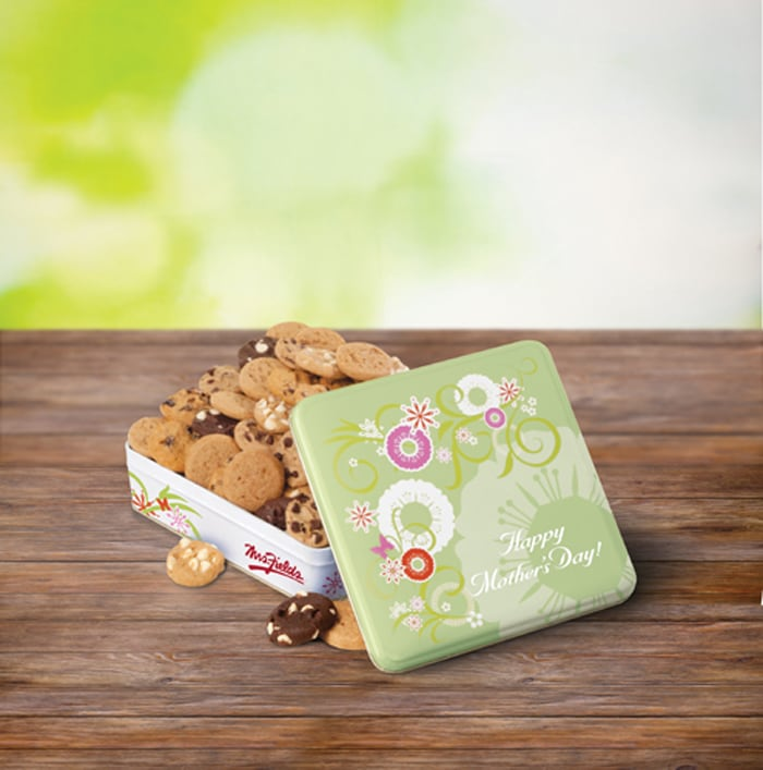 Mrs. Fields 'Happy Mother's Day' Nibblers Cookie Tin