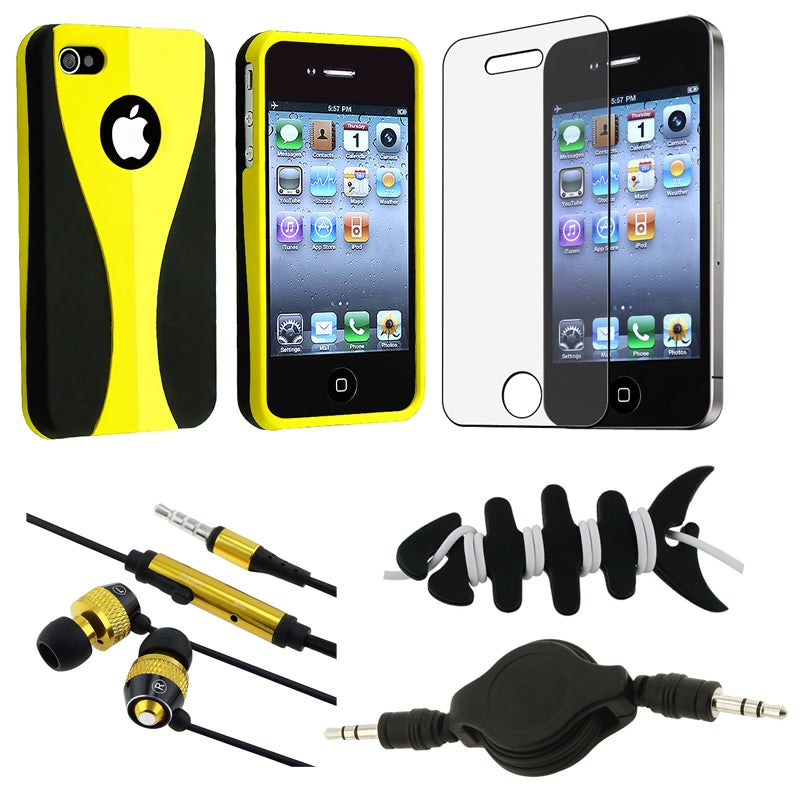 BasAcc Case/ LCD Protector/ Headset/ Wrap/ Cable for Apple iPhone 4S