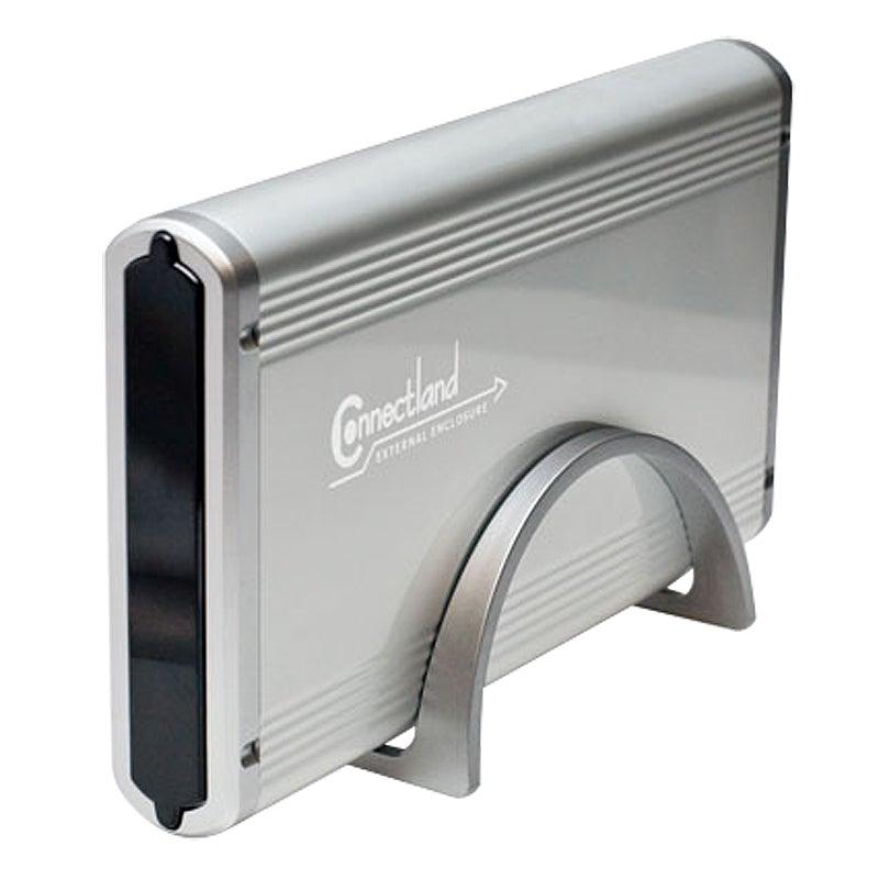 SYBA 3.5-inch Silver SATA/ IDE HD Connectland USB 2.0 Enclosure