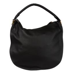 Chloe 'Marcie' Large Black Leather Hobo - Thumbnail 2