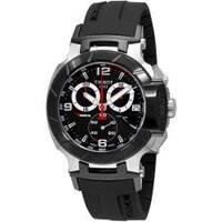 Tissot Men's 'T-Race Quartz' Black Dial Chronograph Watch