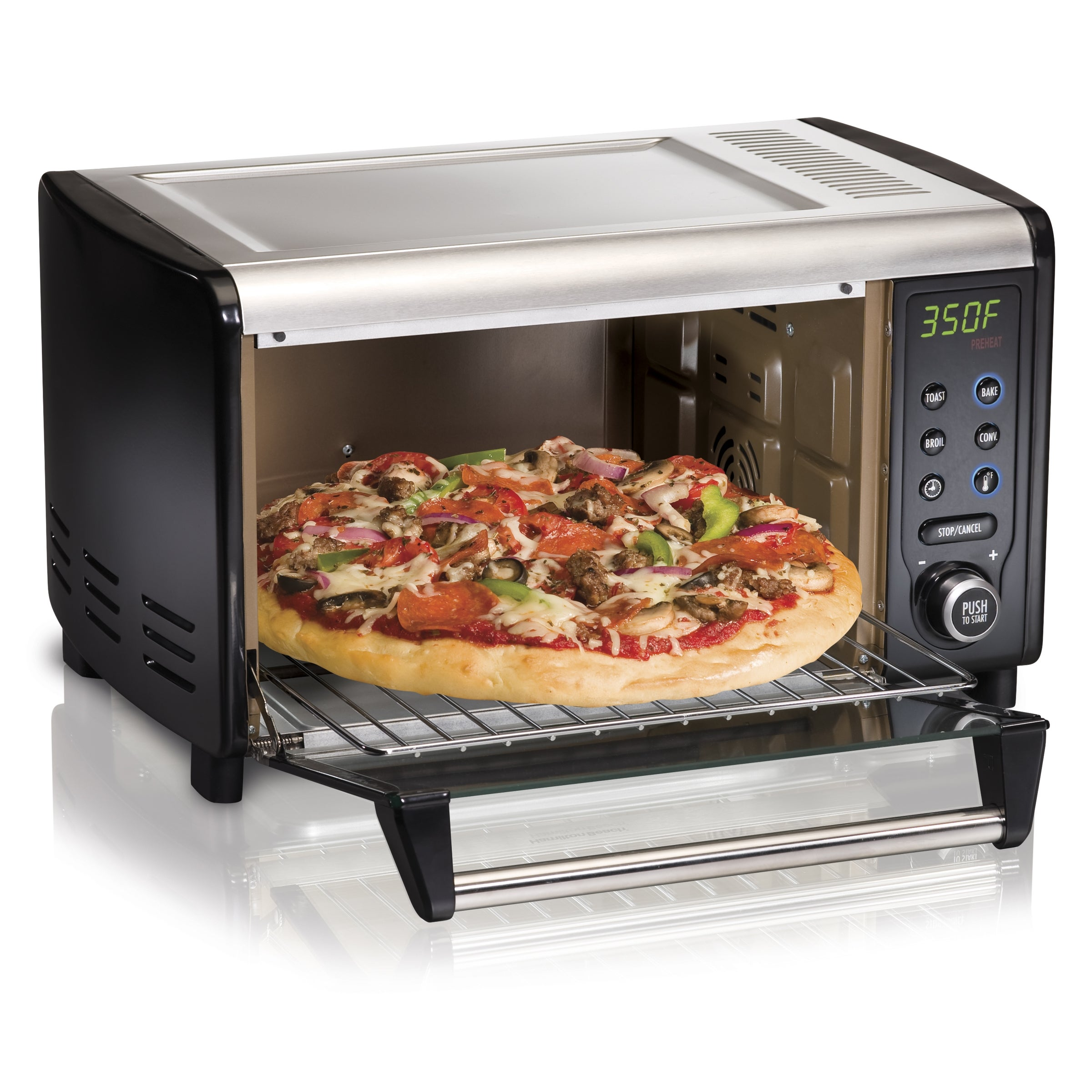 Hamilton Beach 31151 Digital Convection Oven with Easy-Clean Interior