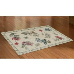 Mohawk Home Tossed Wildflowers Linen Kitchen Rug 2 6 X 4