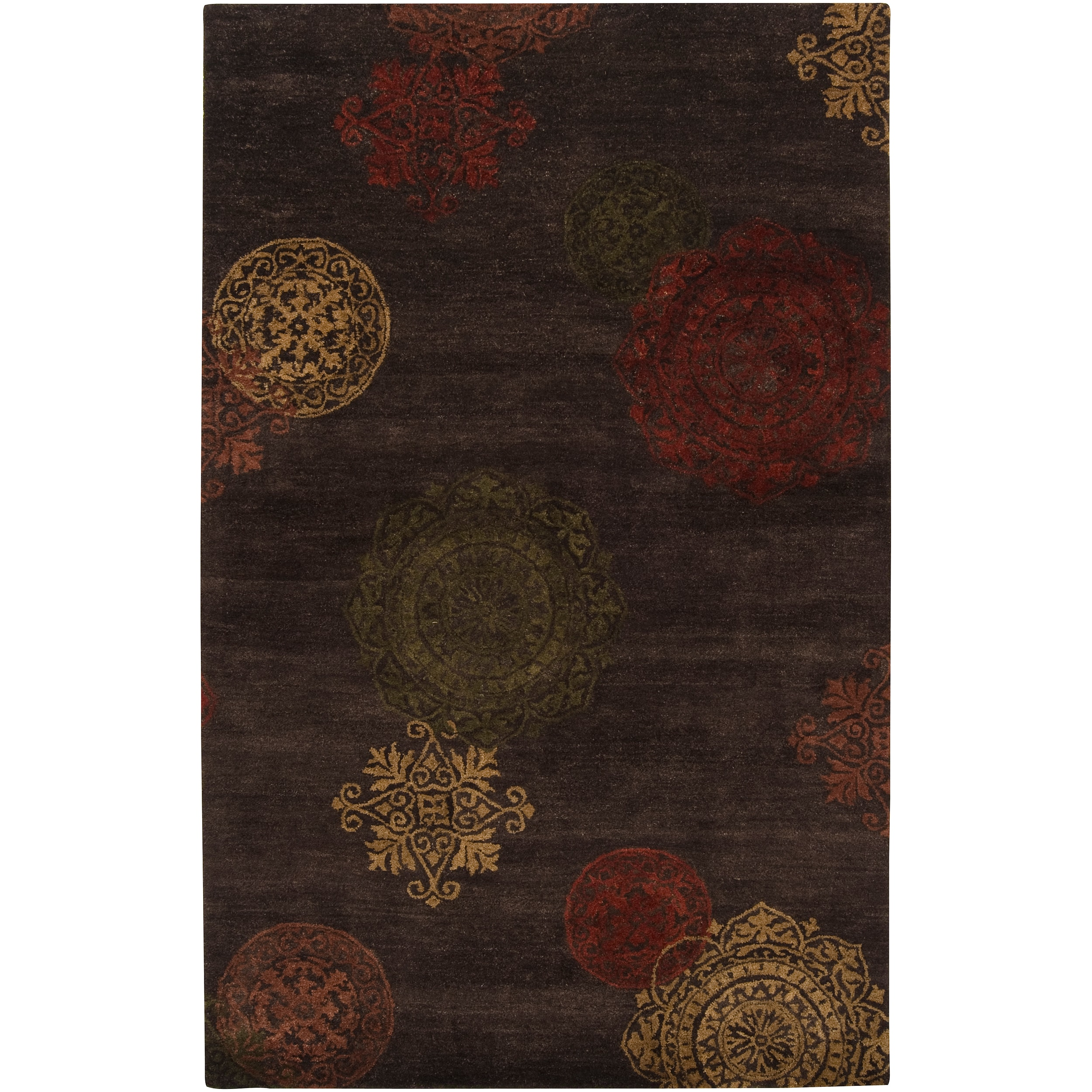 Hand-tufted Gray Sitka New Zealand Wool Rug (3'3 x 5'3)