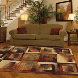 Mohawk Home Mobile Blocks Multi Rug (8' x 10') - Thumbnail 1