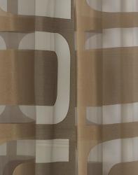 Othello Semi-Sheer Grommet 84-inch Curtain Panel Pair - Thumbnail 2