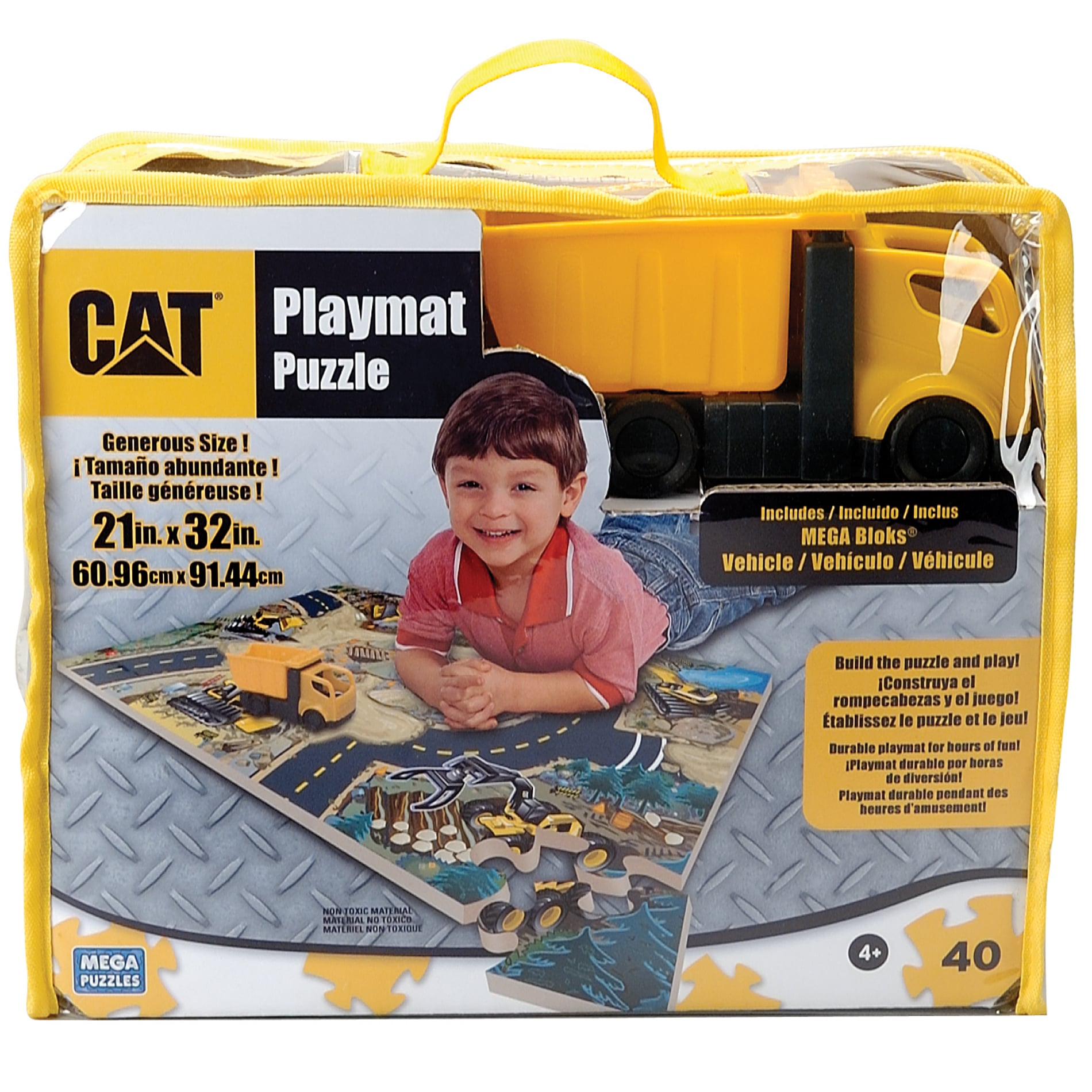 Mega Bloks World of CAT Foam Playmat Puzzle