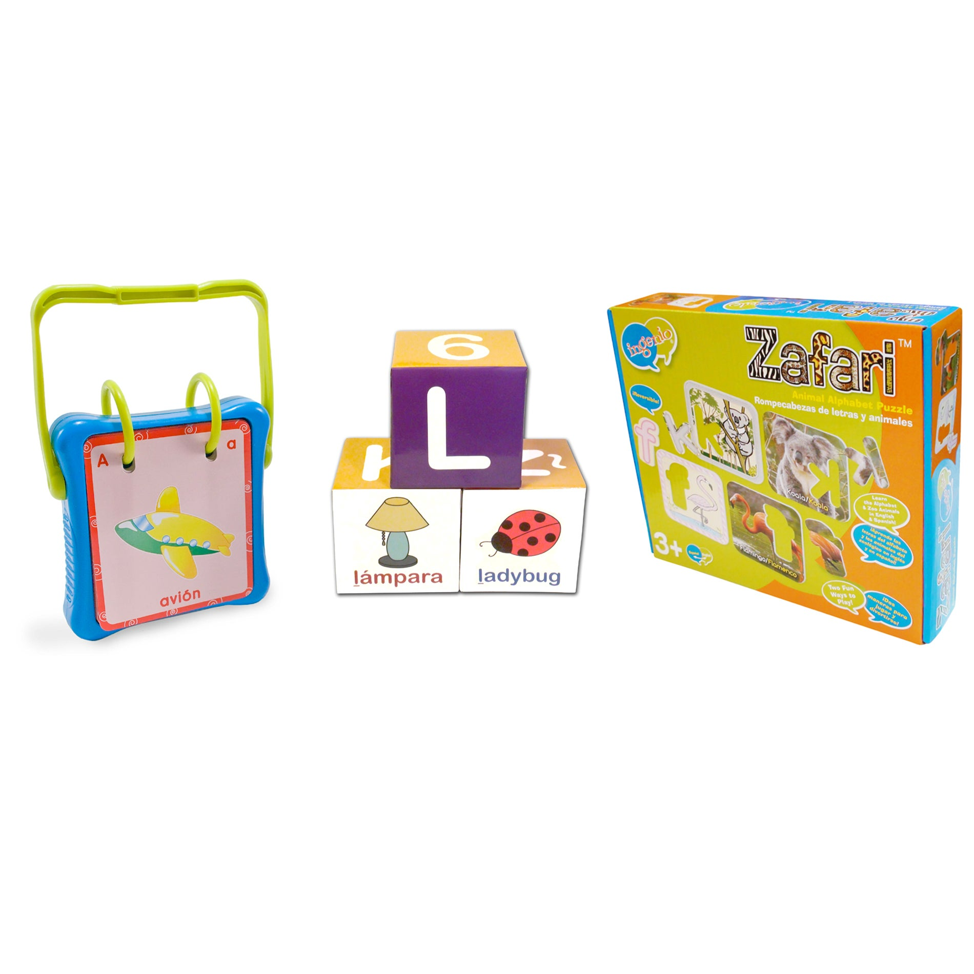 All About the Alphabet Game Bundle