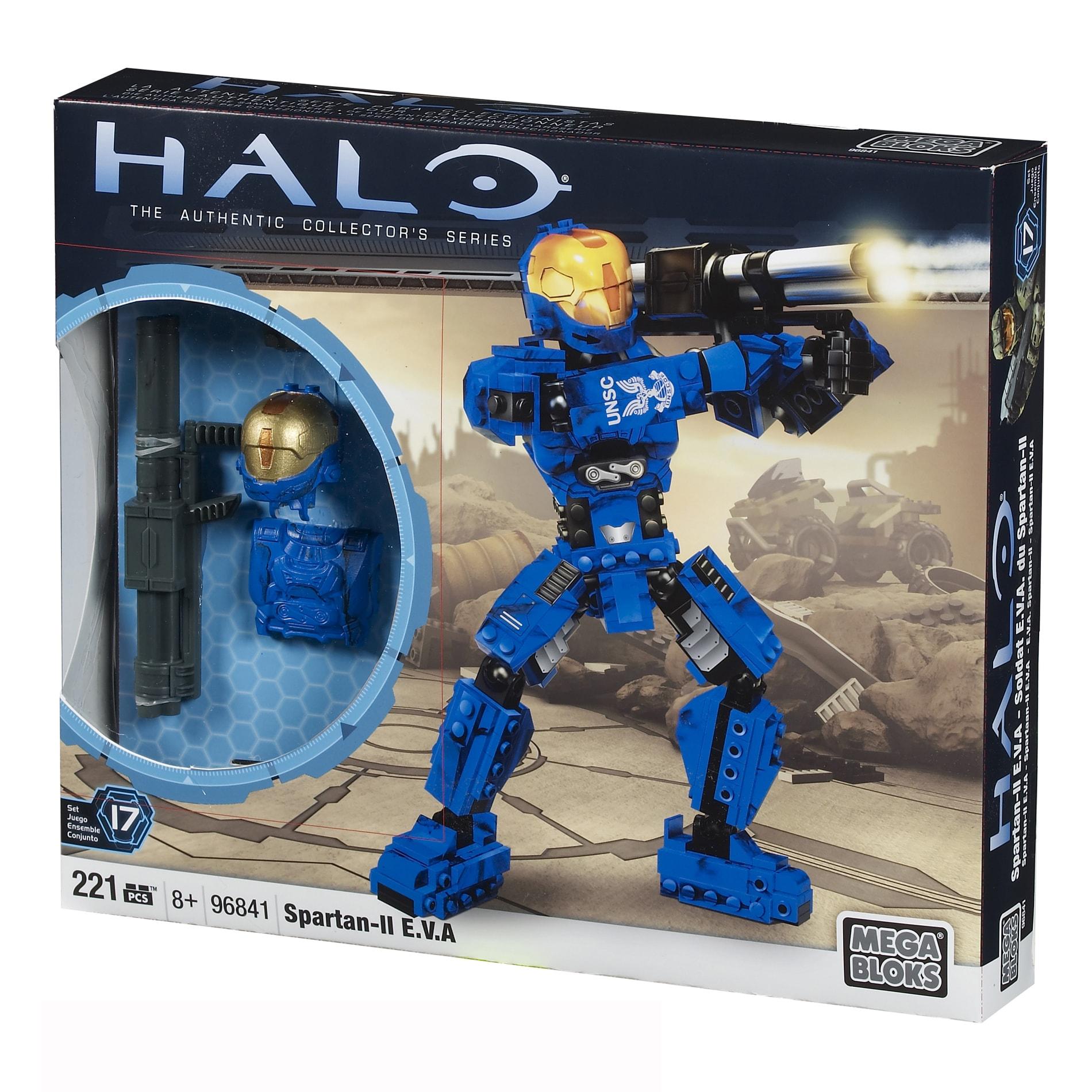 Mega Bloks Halo Spartan II EVA Buildable Figure