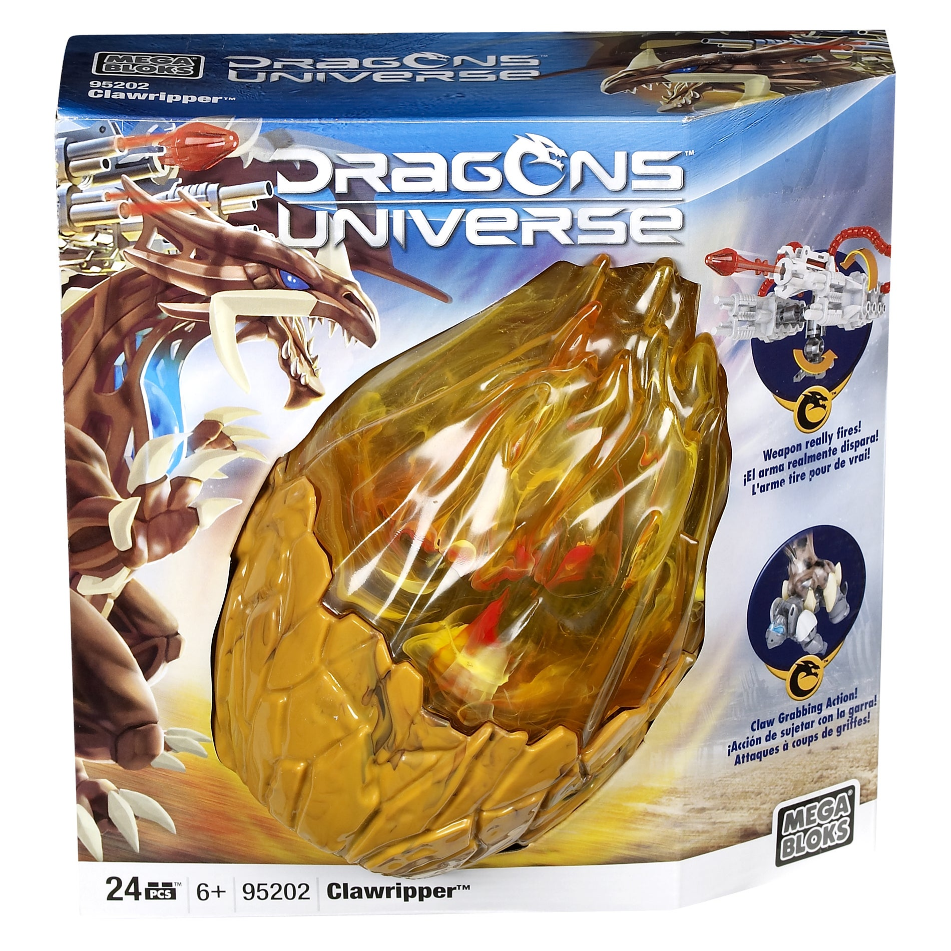 Mega Bloks Dragon Universe Clawripper