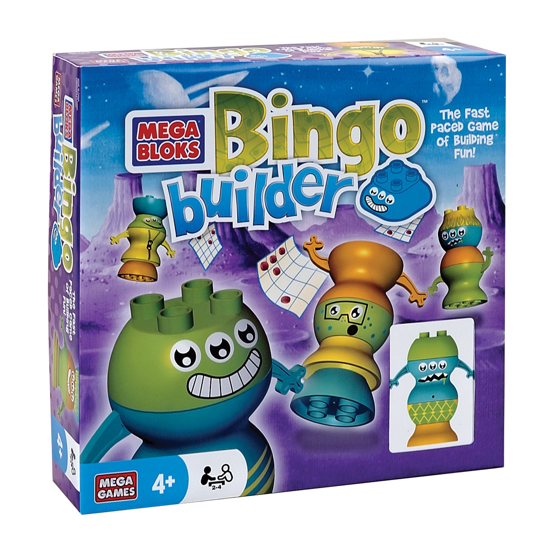 Mega Bloks Bingo Builder Game