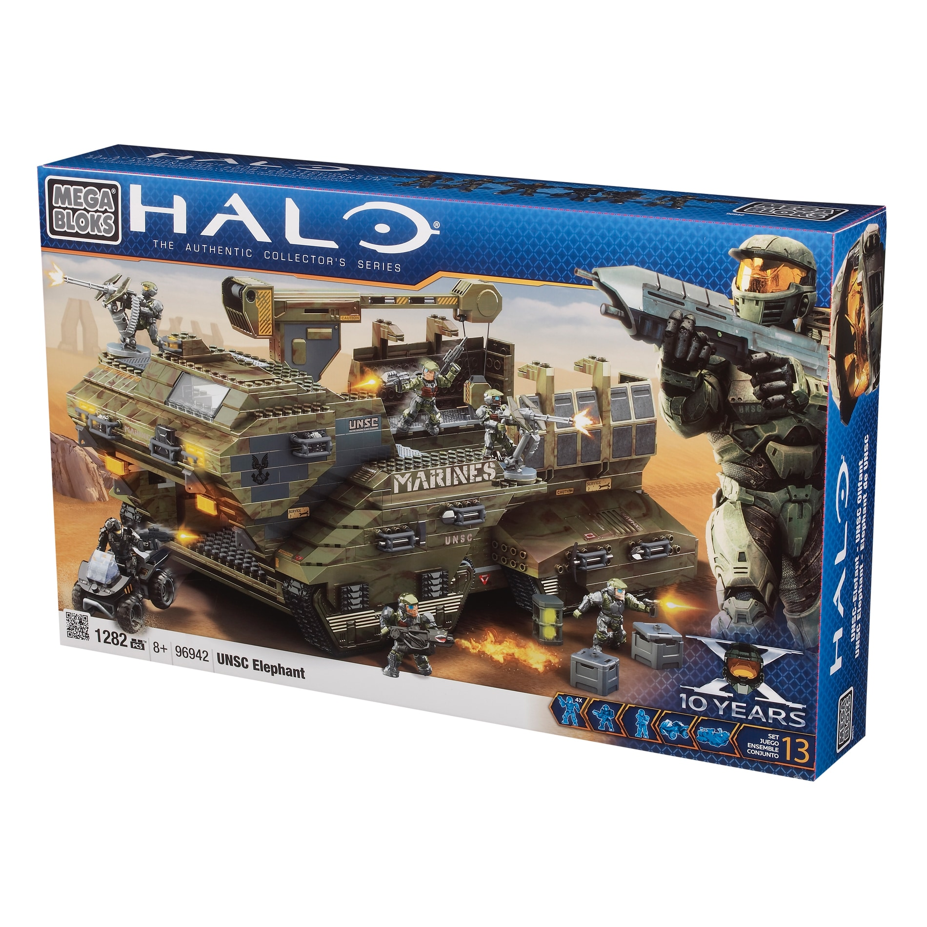 Mega Bloks Halo UNSC Elephant Play Set