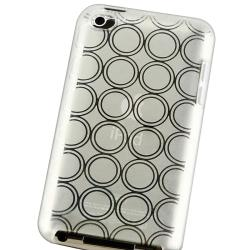 BasAcc Clear White Circle TPU Case for Apple iPod Touch Generation 4 - Thumbnail 2