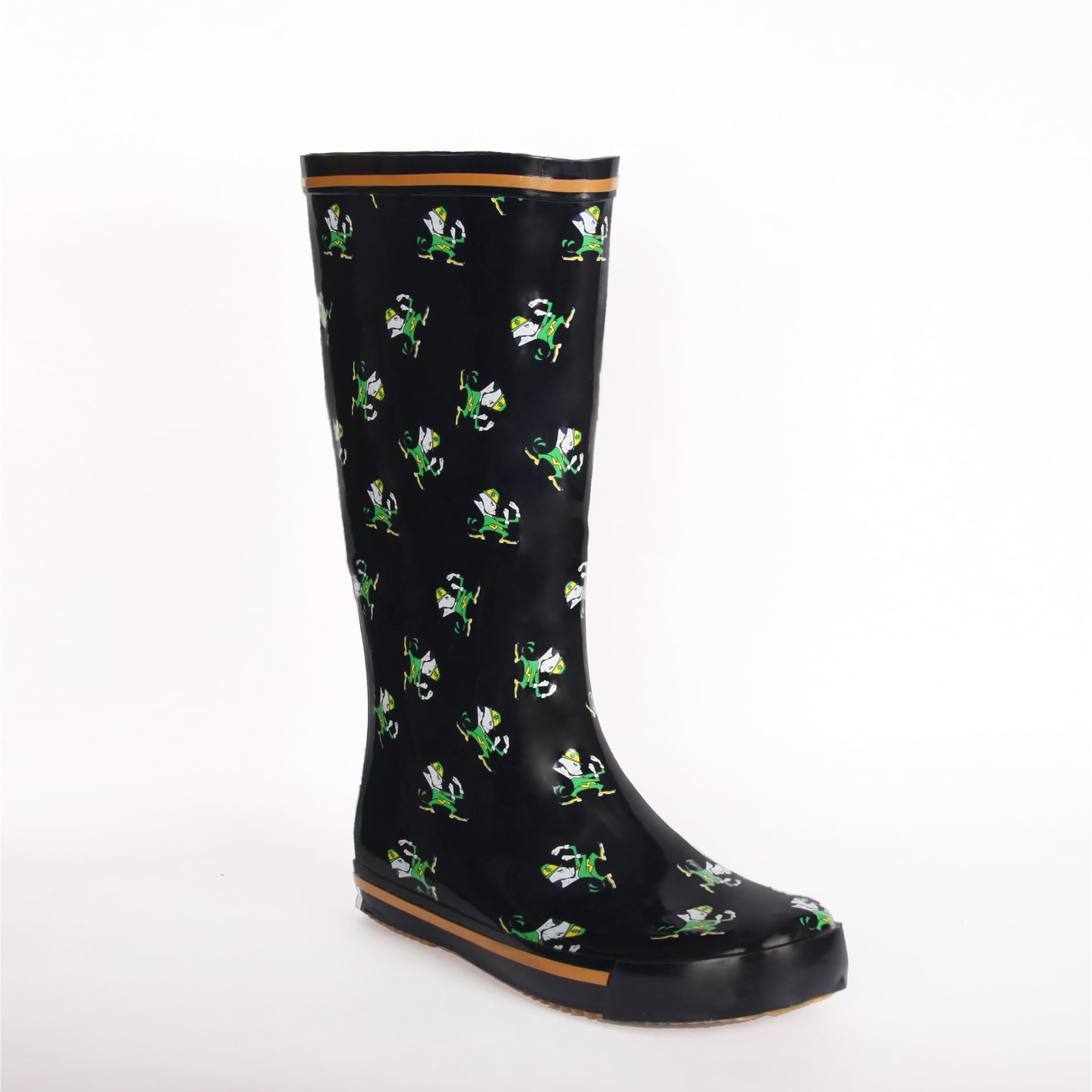 Notre Dame Fighting Irish Women's Leprechaun Rain Boots