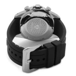 Swiss Legend Men's 'Tungsten' Black Silicone Watch - Thumbnail 1