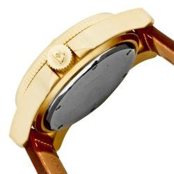 Swiss Legend Men's 'Conqueror' Brown Leather Watch