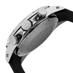 Swiss Legend Men's 'Tungsten' Black Silicone Watch - Thumbnail 2