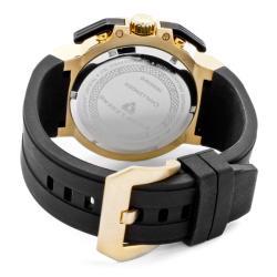 Swiss Legend Men's 'Challenger' Black Silicone Watch - Thumbnail 1