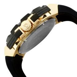 Swiss Legend Men's 'Challenger' Black Silicone Watch - Thumbnail 2