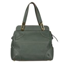 Chloe 'Mary' Green Leather Satchel Bag - Thumbnail 2