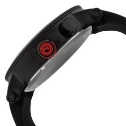 Red Line Men's 'Specialist' Black Silicone Watch
