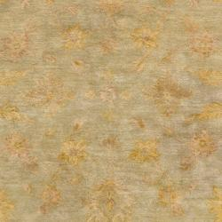 Hand-tufted Brown Panel F New Zealand Wool Rug (3'3 x 5'3) - Thumbnail 2