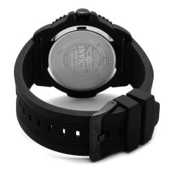 Invicta Men's 'Pro Diver' Black Polyurethane Watch - Thumbnail 1